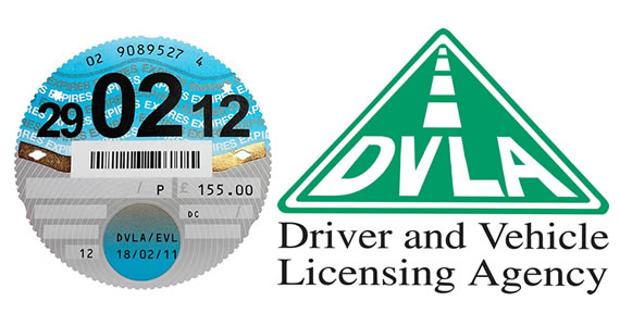 DVLA Logo & Tax Disc