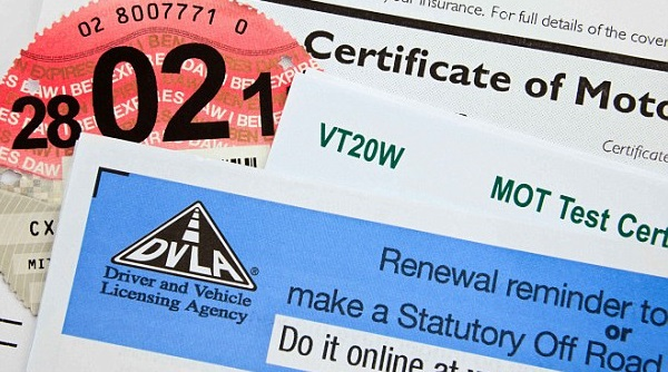 dvla documents