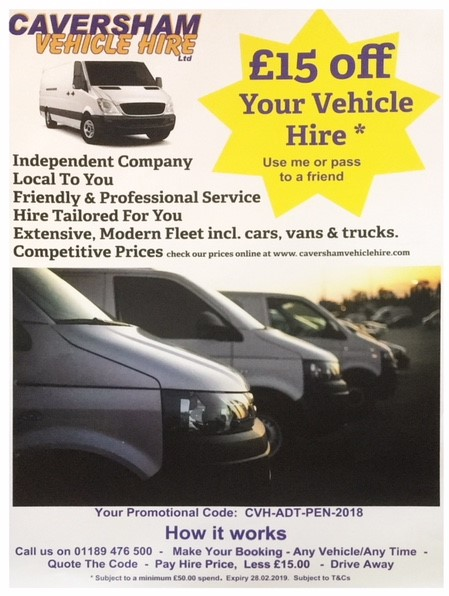 vehicle hire offers